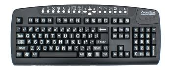 Large type keyboard