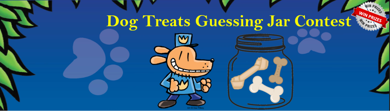 Dog Treats in a Jar Contest August 20-25