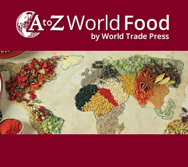 A to Z World Food map