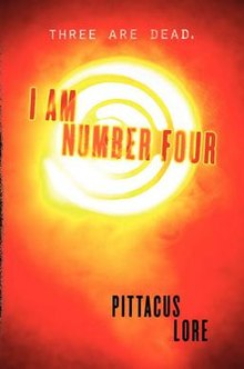 Book Cover: I am Number Four